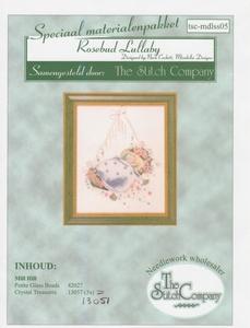 Rosebud Lullaby Mirabilia Designs speciaal materialenpakket  per stuk