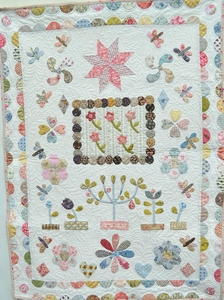 The Orchard Crib Quilt English Pattern  per stuk