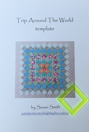 Trip Around The World template by Susan Smith  per stuk