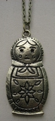 Ketting Matroesjka brons per stuk