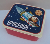 Lunchbox spaceboy per stuk