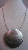 Hanger schelp rond (nikkelvrij 5-draads) per stuk
